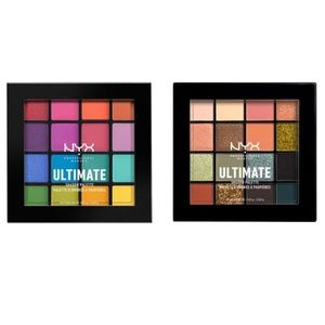 Lot of (2) Brand New NYX Ultimate Shadow Palettes